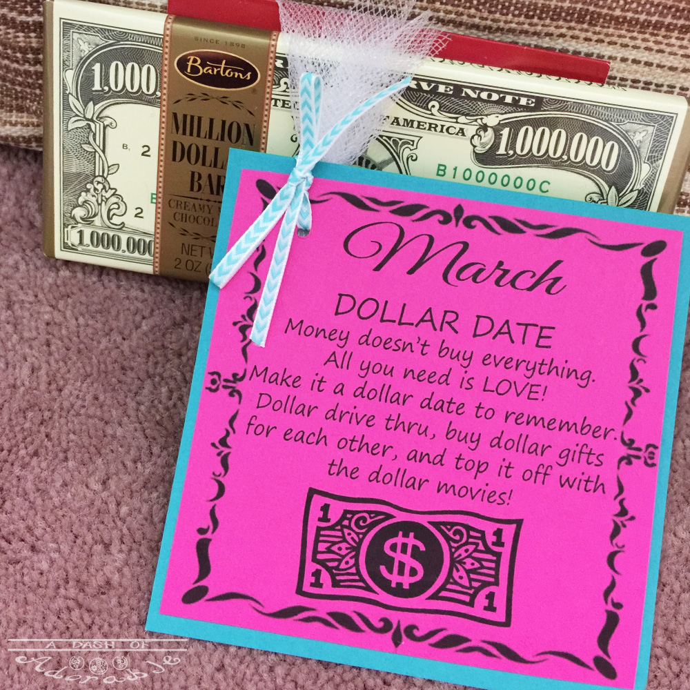 Ultimate Wedding Gift – 12 Dates for 12 Months – A Dash of Adorable