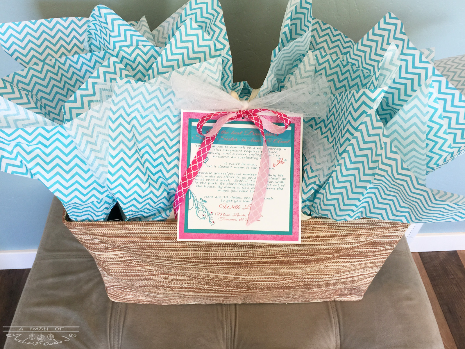 Ultimate Wedding Gift 12 Dates For 12 Months A Dash Of Adorable